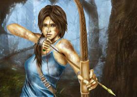 Lara Croft Reborn 2013 by Tsukishibara