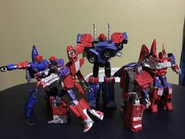 Transformers: Combiner Wars - Team Nexus by AvatarKiba