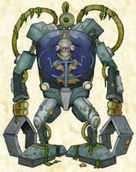 MB4 - War Machine of Merfolk by BoKaier