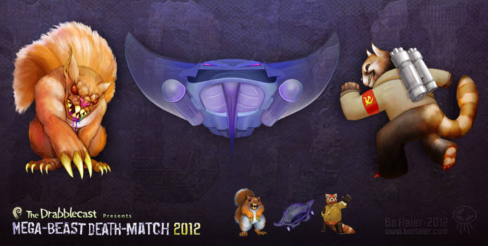 Mega-Beast Death-Match 2012 - Round 1 by BoKaier