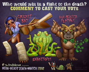 Mega-Beast Death-Match 2012 - Round 2 by BoKaier