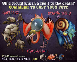 Mega-Beast Death-Match 2012 - Round 3 by BoKaier