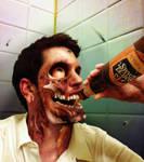 Horror Self Portrait 2012 by BoKaier