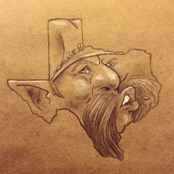 State Faces: Texas by BoKaier