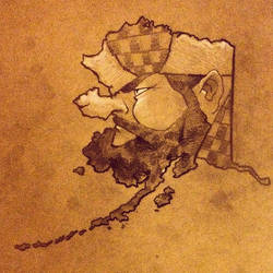 State Faces: Alaska by BoKaier