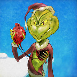 The Grinch by BoKaier
