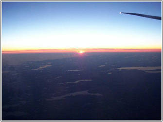 Sunset from the Plane by songstress-yuna