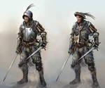 mercenary characters by chrzan666