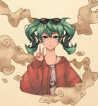 Hatsune Miku [ Sand Planet ] by BrokenDoll777