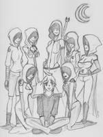 Arc's Seven Sisters by oobidoobi