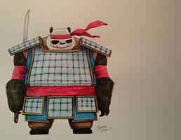 Panda Khan by ChainsawTeddybear