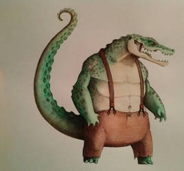 Leatherhead by ChainsawTeddybear