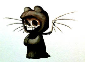 Halloween Teddy 2 by ChainsawTeddybear