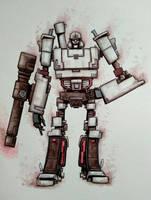 The OG Megatron by ChainsawTeddybear