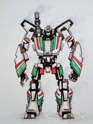 The OG Wheeljack by ChainsawTeddybear