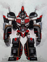 Titans Return: SkyShadow by ChainsawTeddybear