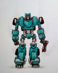 Transformers: Sergeant Kup by ChainsawTeddybear