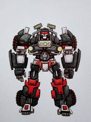 Transformers: Trailbreaker by ChainsawTeddybear