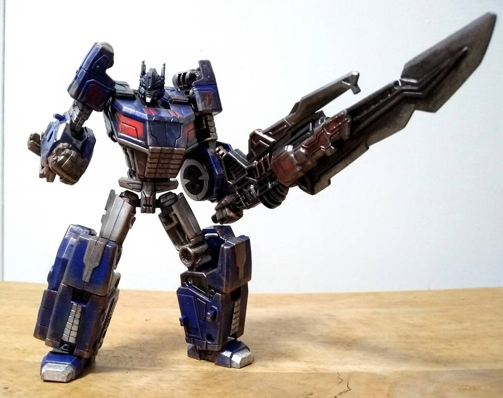 Custom: Ultra Magnus by ChainsawTeddybear