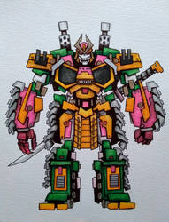 Transformers: Bludgeon by ChainsawTeddybear