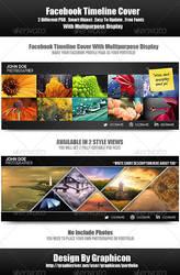 Multipurpose Portfolio Timeline Cover by graphiccon
