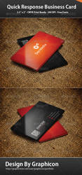 Quick Response Business Card by graphiccon