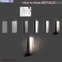 Metallic Tutorial by ImoonArt