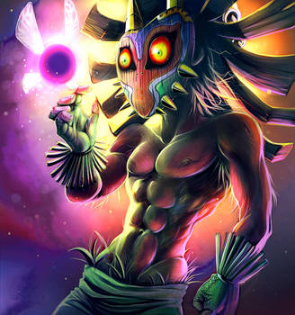 Grown Up Skull Kid by ImoonArt