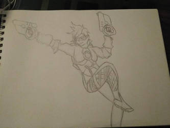 Overwatch Tracer by blazingheart0