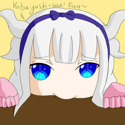 Hungry, Pouty Kanna by blazingheart0