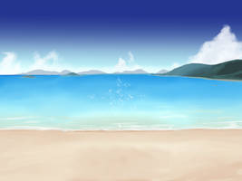 Yet Another Beach Background - 2 by wbd