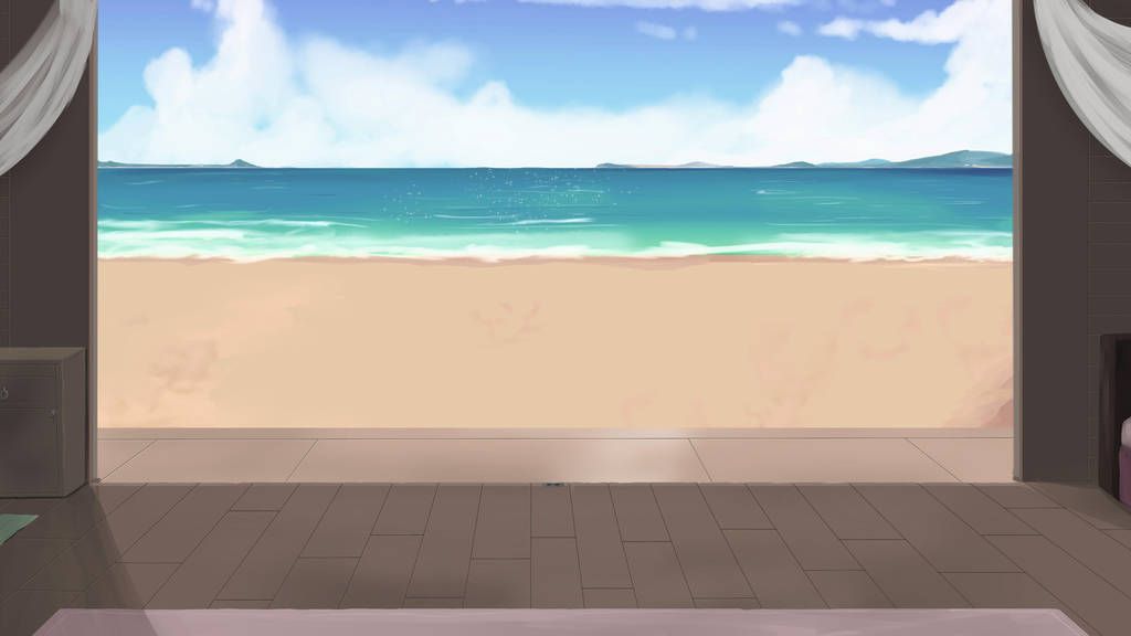 Beach House Background by wbd