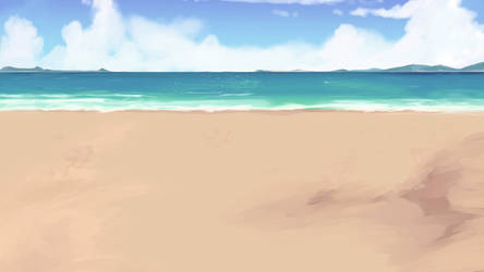 Yet Another BeachBackground Ver2 by wbd