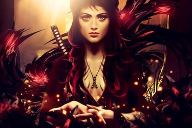 Samurai Girl by YataMirror
