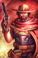 Overwatch - McCree by AIM-art
