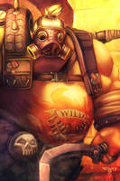 Overwatch - Roadhog by AIM-art
