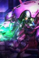 Overwatch - D.Va by AIM-art