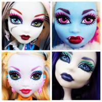 Monster High 4 Square by Brett1486