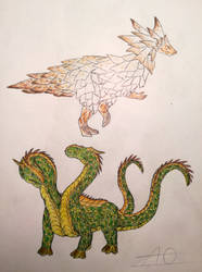 Creatures #4 by Cynderela2001