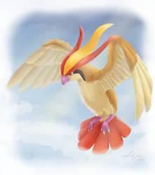 #018 Pidgeot by Cynderela2001