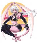 Sailor Star Healer Gargoyle by KiraSaintclair