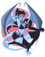 Sailor Star Fighter Gargoyle by KiraSaintclair