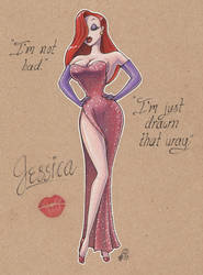 Jessica Rabbit by Aphilien