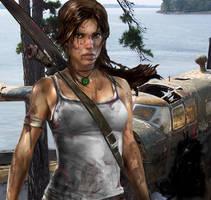 Tomb Raider crash site by glinstr