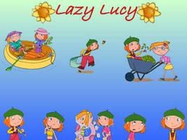 Lazy Lucy Wallpaper 2 by ConkerGuru