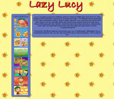 Lazy Lucy Fansite remade in CSS by ConkerGuru