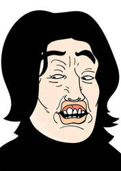 Snape : Leviosaaa by Spomch