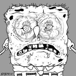 Creepy Spongebob by Spomch