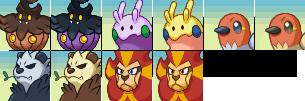 Pokemon Gen 6 - Mystery Dungeon Portraits by Neslug