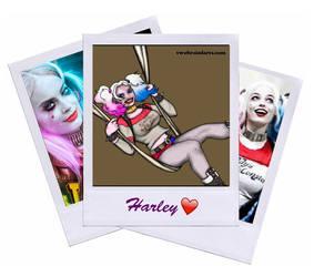 Harley Quinn on Halloween by TwoBrainFarts